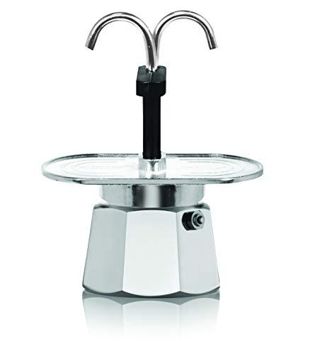 (Bialetti 06973 Mini Express Stovetop espresso percolator silver)