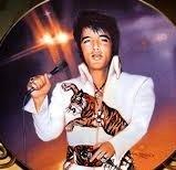 "Elvis ""The Superstar"" Plate Bradford Exchange"