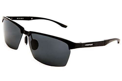 PAERDE AL-MG Polarized Sunglasses for Men Semi-Rimless Frame   Modern Style