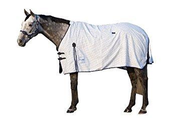 Kool Coat Classic Standard Neck - White/blue, 81