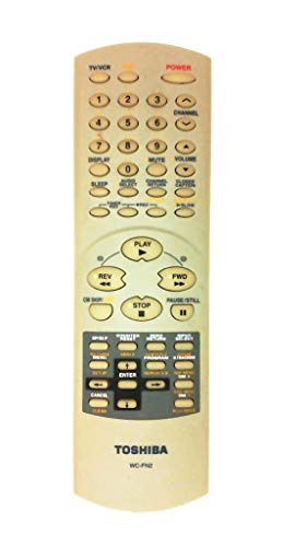 (TOSHIBA WC-FN2 TV/VCR/DVD COMBO REMOTE CONTROL WC-FN2 (Part No. 72796927))