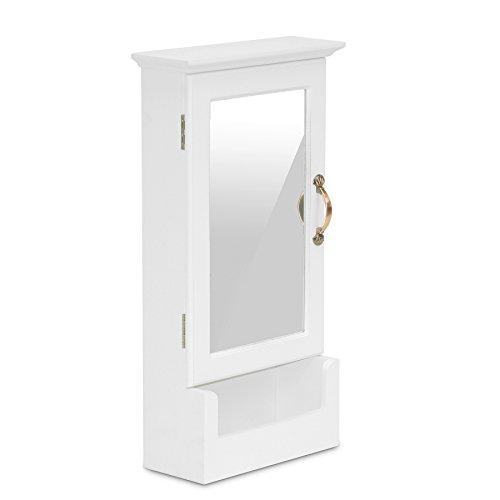 Baxton Studio Wessex Key Cabinet, White by Baxton Studio