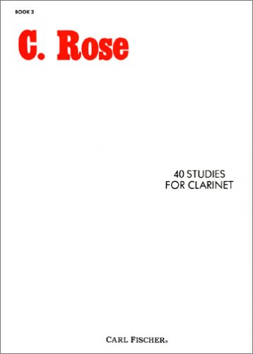 40 Studies for Clarinet, Book 2