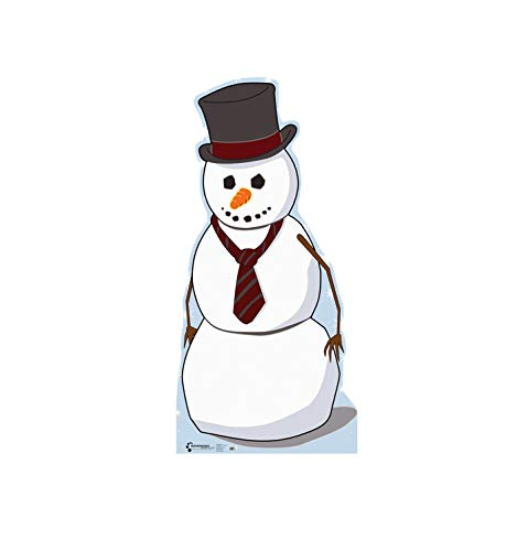 Advanced Graphics Snowman Life Size Cardboard Cutout Standup