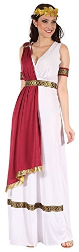 Greek Goddess Athena Female Fancy Dress Costume & Headpiece - One Size (US 8-12)