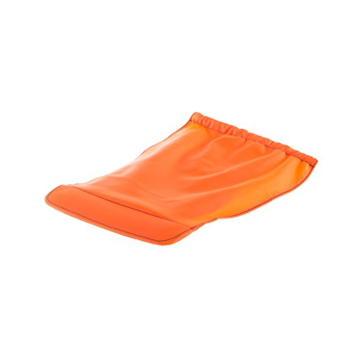 Waterproof Removable Protective Cover for Plixi & Plixi Fit Folding Helmet - Protects from Cold and rain (Orange, L/XL)