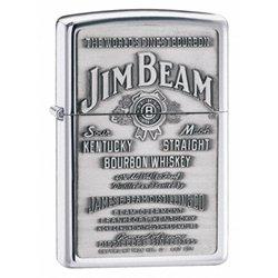 Zippo Jim Beam Pewter Emblem. (Jim Beam Zippo)
