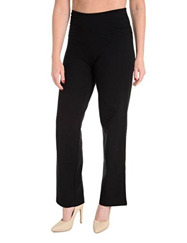 Spanx Control Pants - SPANX Ath-Leisure Active Full Leg Pants QVC A223745 1479, Black, 1X Plus