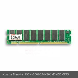DMS Compatible/Replacement for Konica Minolta 2600634-301 magicolor 2350 EN 128MB DMS Certified Memory PC100 16X64-8 CL2 SDRAM 168 Pin DIMM - DMS ()