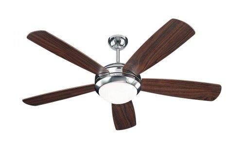 Monte Carlo Polished Ceiling Fan - 2