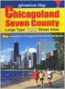 American Map Chicagoland Seven County Atlas Chicagoland Atlas Amc Creative Sales Corp 9780841654570 Amazon Com Books