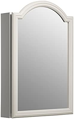 KOHLER K-CB-CLW2030DAW Single Door 20-InchW x 29-1/2-InchH x 5-1/4-InchD White Enameled Aluminum Cabinet