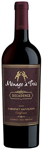 Menage A Trois Cabernet Decadence, 750 ml
