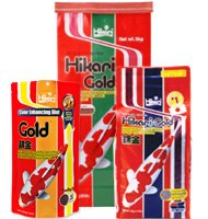 Hikari Gold Koi Fish Food (Large Pellet) - 11 lbs. with BONUS Max Ponds Magnet Calendar by Hikari USA