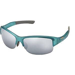 Suncloud Torque Polarized Sunglasses, Satin Teal, Silver Mirror/Contrast