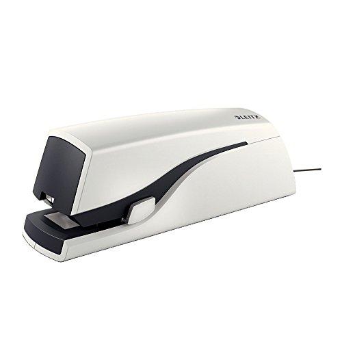 Electric stapler: LEITZ Nexxt Series, WOW white, up to 20 sh