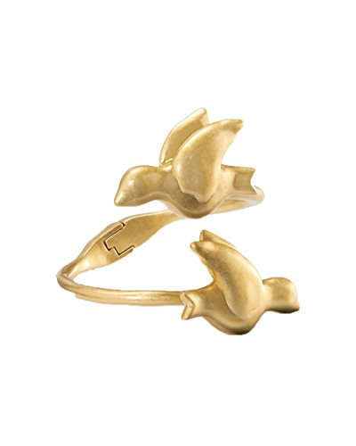- Tory Burch Dove Cuff Bracelet, Worn Golden