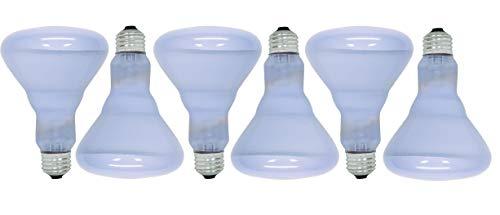 (GE Lighting Reveal 65-watt 445-Lumen BR30 Flood Light Bulbs (6 Bulbs))