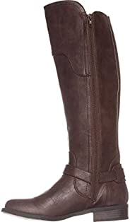 G By Guess Womens Harson Almond Toe Knee High Fashion Boots