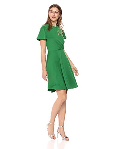 Wild Meadow Women's Short Sleeve Wrap Top Dress XL (Meadow Green Apparel)
