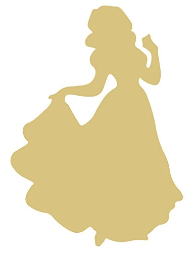 Woman Cutout Unfinished Wood Mother Mom Female Human Sister Bride MDF Shape Canvas Style 2