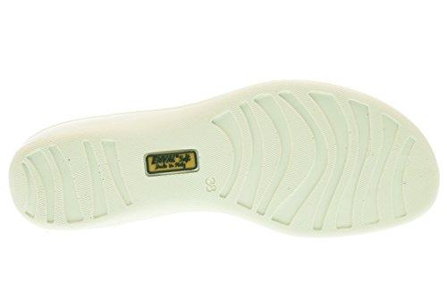 ENVAL 59611 de diamantes de imitación de plata de las sandalias de las mujeres suave suela de goma flexibles Argento