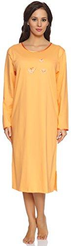 Merry Style Camisa da Dormir para Mujer Malwa Naranja