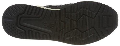 Asics Unisex-Erwachsene Gel-Lyte III Sneaker Schwarz (Black)