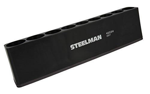 STEELMAN 42034 1/2-Inch Drive Magnetic Deep Socket Holder by Steelman