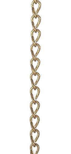 Brass Jack Chain - B&P Lamp #18 Brass Double Jack Chain, Foot