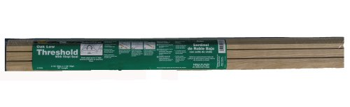 Oak M-D Building Products 11783 M-D Low Door Threshold 3-1//2 in W X 36 in L X 1-1//8 in H