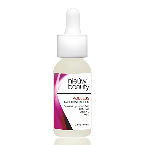 AGELESS HYALURONIC SERUM by nieuw beauty. Anti-Aging  Hydrating
