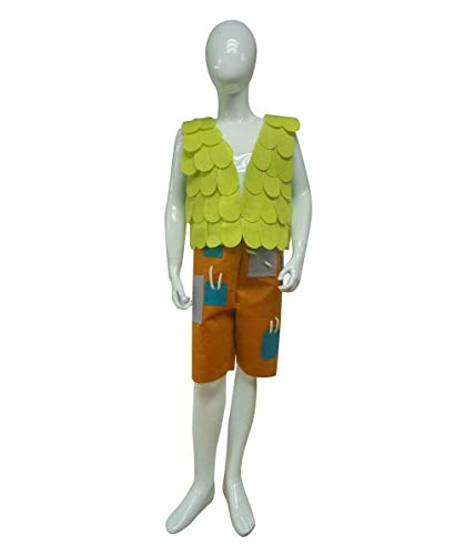 Halloween Party Online Kid's Troll Branch Costume, Green Small