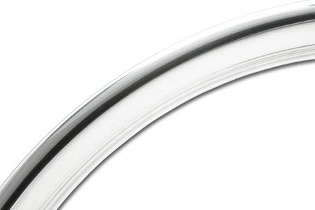 Coker Tire 3006-15 Trim Ring 15 Inch Hot Rod Ribbed by Coker Tire (Image #1)