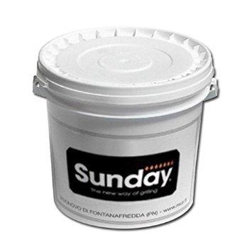 SUNDAY GRILL-BOTE DE PINTURA 250 ML, COLOR GRIS DE LIQUIDACIÓN RAL 7011 4012068