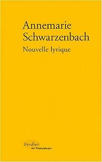 Nouvelle lyrique par Schwarzenbach