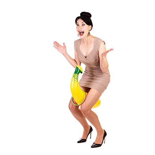 Bachelorette Party Games - Inflatable Banana Ring Toss & 20 Piece Dare Card Game Favors Decorations Set by Prestige Party Supplies LLC