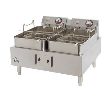 Star 530TF Star-Max 30 lb. Electric Fryer with Two 15 lb. Baskets