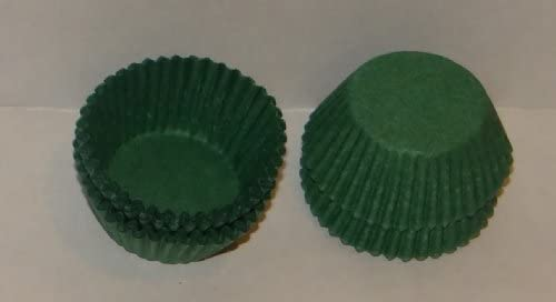 #4 Green Paper Candy Cup Cups 1000 Pack Candy Making Supplies