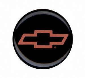 Grant Signature Series Horn Button - Grant 5660 Signature Series Horn Button (Chevy Bow Tie, Red/Black)