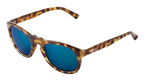MR Blue Williamsburg BOHO Multicolore Dark de Lunettes Lenses Mixte Soleil gqgxRr4nT