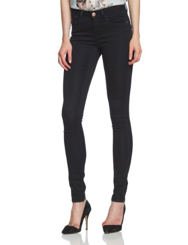 Only - Vaqueros soft ultimate para mujer Negro (Black Denim)