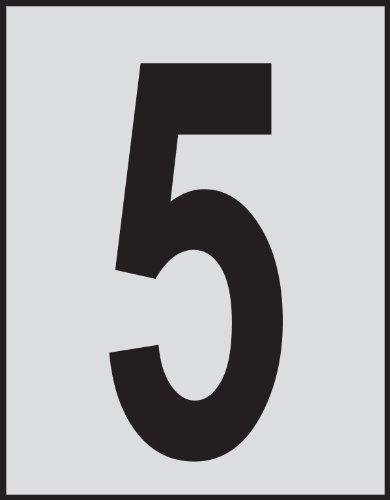 Brady 5900-5, Bradylite Reflective Numbers & Letters, 1 1/2