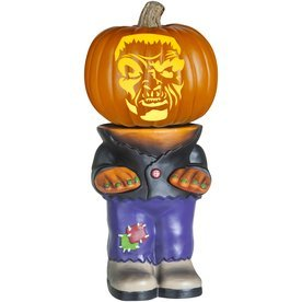 Pumpkin Stand Body for Turning Your Halloween Pumpkin into a Character - 10.5