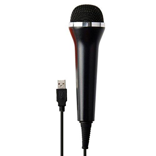 Wii Karaoke Microphone - G-Dreamer USB Universal Karaoke Mic Microphone for PS4/Xbox One Wii U & PC