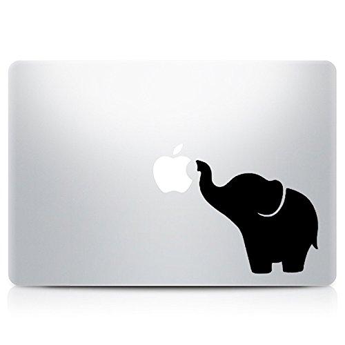 DecalGalleria Elephant Vinyl Sticker MacBook product image