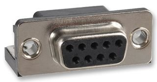 9 182 Series NORCOMP 182-009-213R171 D Sub Connector Receptacle Right Angle Steel 50 pieces Through Hole DE