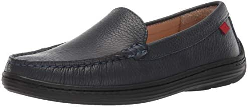 MARC JOSEPH NEW YORK Kids Leather Boys//Girls Casual Comfort Slip on Moccasin Venetian Loafer Driving Style
