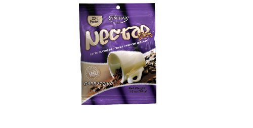 Syntrax Nectar Lattes, Grab N Go, Cappuccino, 12 - 1 oz Packets by Syntrax