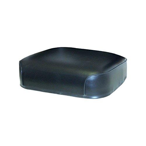 K&M 039-7040 AC 7001 Seat Cushions, Black Vinyl